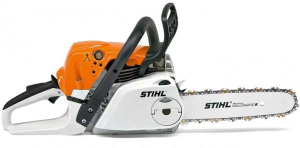STIHL Motorsäge MS 231 C-E mit Duro-3-Sägekette, Leistung 2,7PS, 35cm Schienenlänge