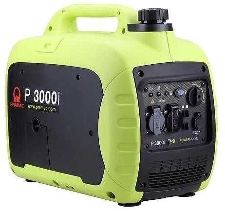 Pramac-Lifter Stromerzeuger P 3000 i - PF262SXI Inverter, Leistung 2,3kw / 230V, schallisoliert