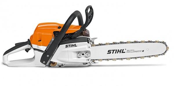 STIHL Motorsäge MS 261 C-M mit Duro-3-Sägekette, Leistung 4,1PS, 37cm Schienenlänge