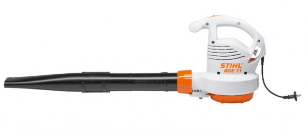 STIHL Elektro-Blasgerät BGE 71, Leichtes Elektro-Blasgerät mit 1,1kW Leistungsaufnahme