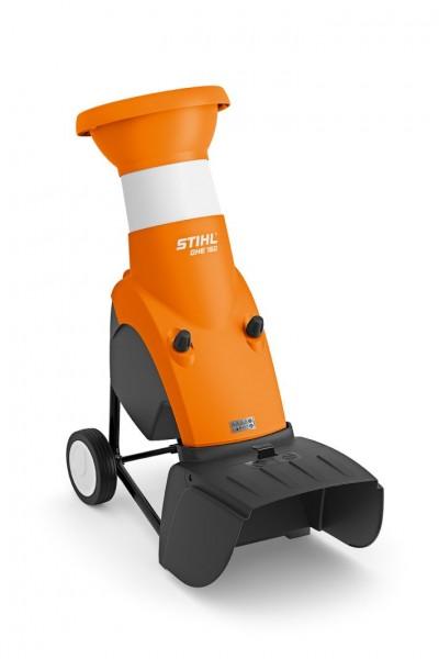 STIHL Elektro-Häcksler GHE 150 Häcksler mit Kleeblattöffnung für Astmaterial bis 35mm