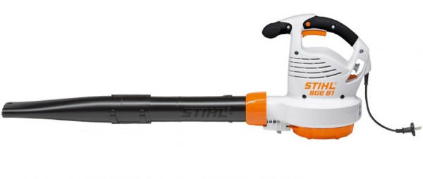 STIHL Elektro-Blasgerät BGE 81, Leistungsstarkes Elektro-Blasgerät mit 1,4kW Leistungsaufnahme