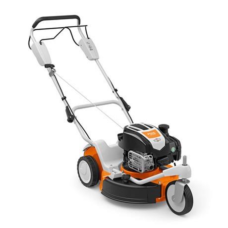 STIHL Benzin-Mulchmäher RM 3 RT, Leistung 3,3PS, Schnittbreite 48cm für Rasenflächen bis 2000qm