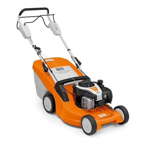 STIHL Benzin-Rasenmäher RM 448 TX, 1-Gang Radantrieb, Schnittbreite 46cm, Rasenfläche bis 1200qm