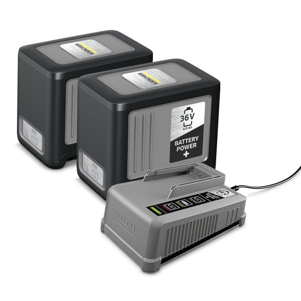 Kärcher Starter Kit Battery Power 36/60 2x Wechselakku + Ladegerät