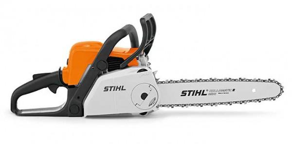STIHL Motorsäge MS 180 C-BE, Leistung 1,9PS, Schienenlänge 30-35cm mit ErgoStart