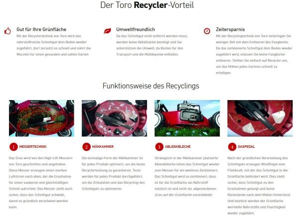 Toro 48cm Super Recycler mit Alu-Gehäuse E-Start und Automatic Drive Antrieb (20838)