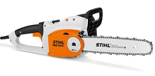 STIHL Elektro-Motorsäge MSE 210 C-B, Leistung 2,1kW, Schnittlänge 35cm, 4kg Gewicht