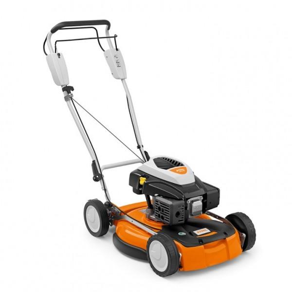 STIHL Benzin-Mulchmäher RM 4 RT mit Antrieb, Schnittbreite 53cm für Rasenflächen bis 2500qm