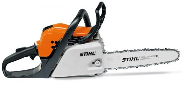 STIHL Motorsäge MS 180, Leistung 1,9 PS, Schienenlänge 30-35cm, 4,1kg Gewicht