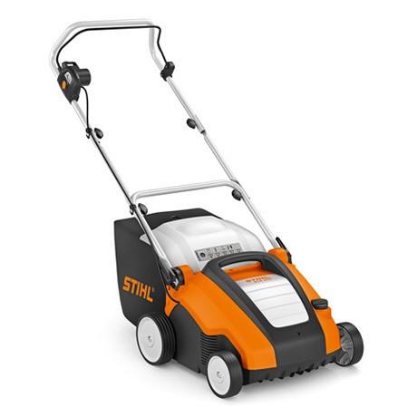 STIHL RLE 240, Kompakter Elektro Rasenlüfter / Vertikutierer für kleinerer Rasenflächen bis 500qm