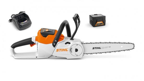 STIHL Motorsäge MSA 120 C-B SET mit AKKU AK 20 und Ladegerät, 30cm Schienenlänge