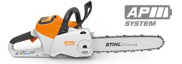 STIHL Motorsäge MSA 220 C-B ohne AKKU und Ladegerät, 35-40cm Schienenlänge