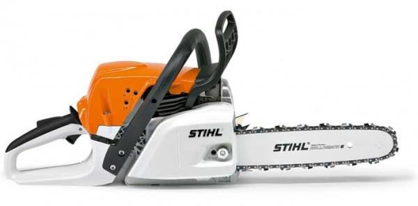 STIHL Benzin Motorsäge MS 231, Leistung 2PS. Schienenlänge 30-35cm