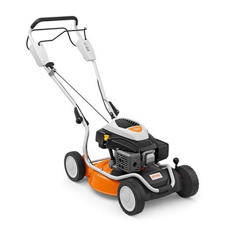 STIHL Benzin-Mulchmäher RM 2 RT mit 1-Gang-Radantrieb für Rasenflächen bis 1500qm
