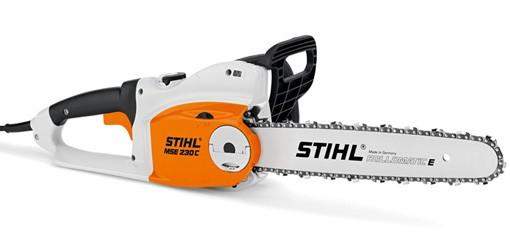 STIHL Elektro-Motorsäge MSE 230 C-B, Schnittlänge 35-40cm, 2,3kW, 4,1kg Gewicht