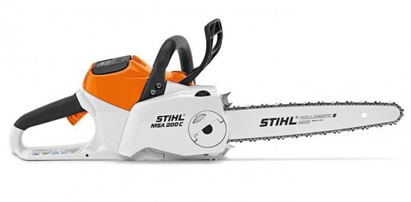 STIHL Motorsäge MSA 200 C-B ohne AKKU und Ladegerät, 30-35cm Schienenlänge
